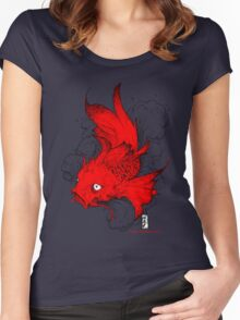 Koi | red Women's Fitted Scoop T-Shirt