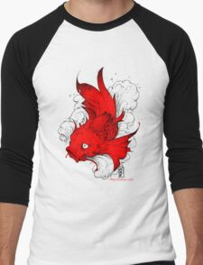 Koi | red Men's Baseball ¾ T-Shirt
