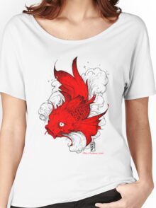 Koi | red Women's Relaxed Fit T-Shirt