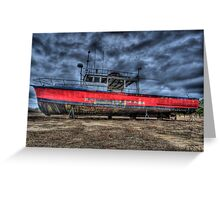 Long Days at Sea Greeting Card