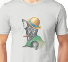Chug In Bowler Hat Unisex T-Shirt
