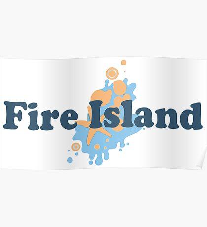 Fire Island - New York. Poster
