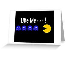 Bite Me! Greeting Card