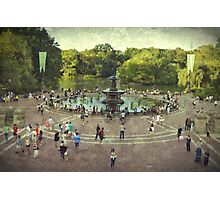 The heart of Central Park Photographic Print