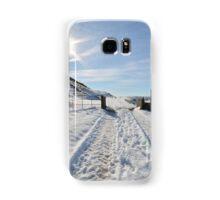 Snowy scene Samsung Galaxy Case/Skin