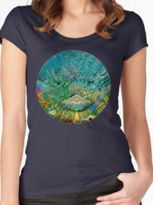 Thalassic Pantheon Women's Fitted Scoop T-Shirt