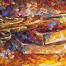 Gun Of Wisdom — Buy Now Link - www.etsy.com/listing/230736577 by Leonid  Afremov