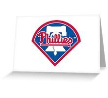 Philadelphia Phillies Baseball Greeting Card