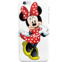 Minnie Mouse Red Dress iPhone Case/Skin