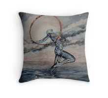Triumph At Twilight Throw Pillow
