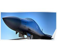 BOEING B1-B LANCER AIR FORCE BOMBER  Poster