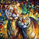 Sweetness — Buy Now Link - www.etsy.com/listing/127690372 by Leonid  Afremov