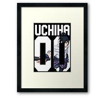 Sasuke Uchiha 00 Framed Print