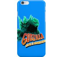 Godzilla King of the Monsters iPhone Case/Skin
