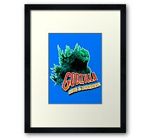 Godzilla King of the Monsters Framed Print