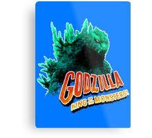 Godzilla King of the Monsters Metal Print