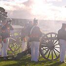 Cannon Firing - Ironfest 2009 by Julie Sherlock