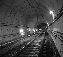 Urban Landscape # 31 Green Square Tunnel by Juilee  Pryor