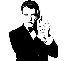 Bond, James Bond #2 Photographic Print