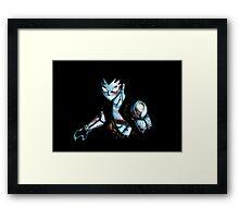 Iron Dragon Magic Framed Print