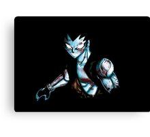 Iron Dragon Magic Canvas Print