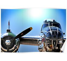 "MITCHELL B-25 MEDIUM BOMBER ""Panchito"" Poster"