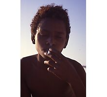 Smoking Photographic Print