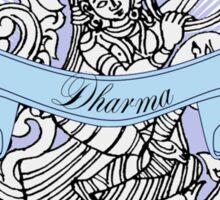 Hindu goddess Dharma Path Sticker