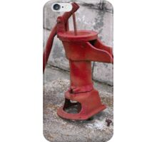 ANTIQUE WATER PUMP iPhone Case/Skin
