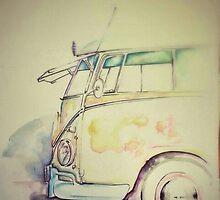 VW Bus Life by beachbumgypsy