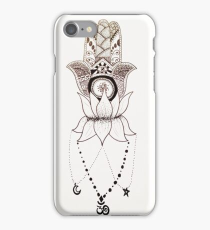 Three Symbols of Spirituality iPhone Case/Skin