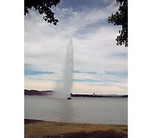 Lake Burley Griffin ACT Photographic Print