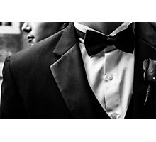 Suit&Tie Photographic Print