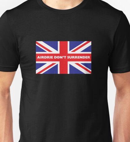 Airdrie Don't Surrender Unisex T-Shirt