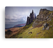 Old Man of Storr. Isle of Skye. Scotland Canvas Print