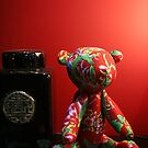 Asian Teddy Bear by ginaellen