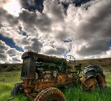 Retired Fordson Major  by Robert Mullner