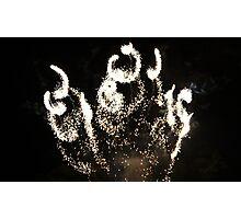 Bonfire Night, Ynysangharad Park, Pontypridd, November 5th, 2008 Photographic Print