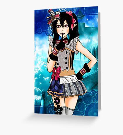 Yazawa Nico Idol Greeting Card