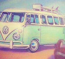 VW Bus Love by beachbumgypsy