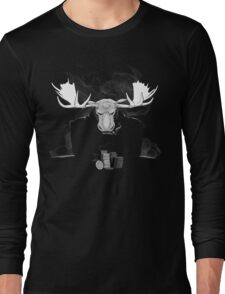 A Bluffing Moose? Long Sleeve T-Shirt