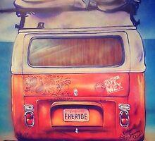 VW BUS by beachbumgypsy