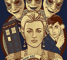 The Doctor and the monsters by Ursula Lopez