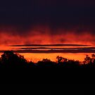 Red Sunset by Tim Bates
