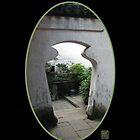 Yu Gardens Jar Doorway, Shanghai by Keith Richardson