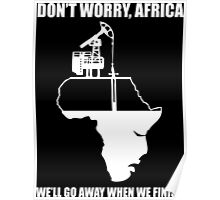 Don't Worry, Africa Poster