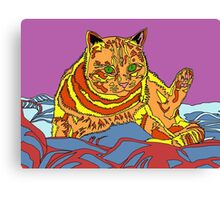 Rufus the Cat Canvas Print