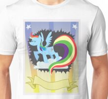 CMC Clubhouse - Rainbow Dash Poster Unisex T-Shirt
