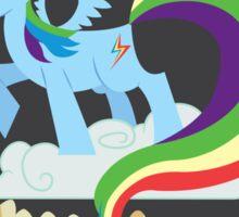 CMC Clubhouse - Rainbow Dash Poster Sticker