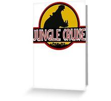 Jungle Cruise Park (NO TEXT) Greeting Card